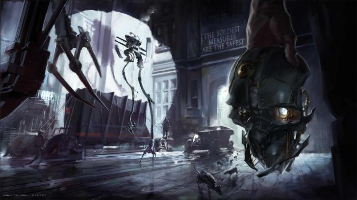 Dishonored Title Art