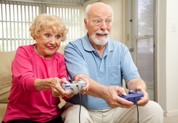 Older People Gaming