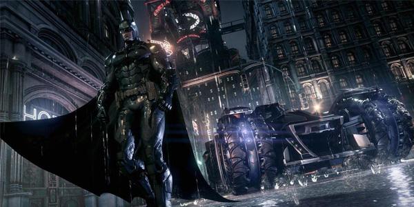Batman and the Batmobile