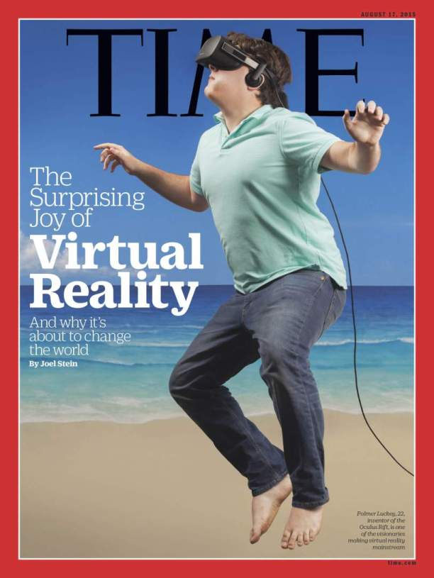 TIME on Virtual Reality