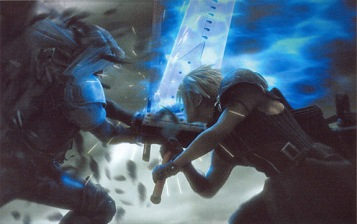 Sephiroth and Cloud