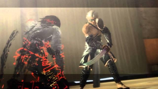 Nier killing the Shadowlord